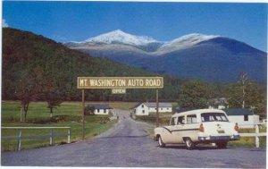 Mt. Washington Auto Road, Pinkham Notch, White Mountains, New Hampshire, NH
