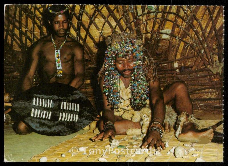 African Life - Sangoma (Witchdoctor)