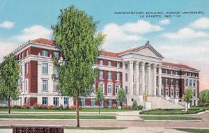 Indiana West Lafayette Administration Building Purdue University