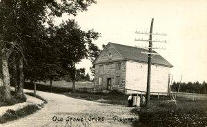 ME - Sullivan. Old Stone Store circa 1950.  *RPPC