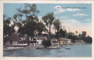 The Lake Front at Lake Side, Michigan, PU-1924