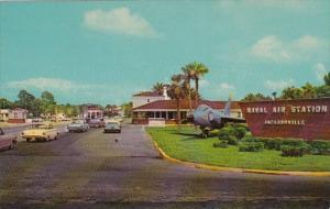 Florida Jacksonville Entrance To Naval Air Station