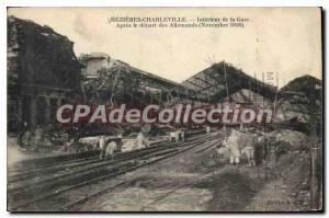 Postcard Charleville Mezieres Old Station of Interior