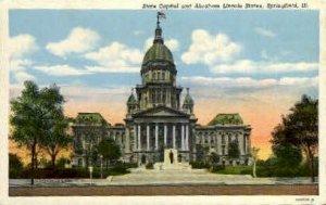 State Capitol - Springfield, Illinois IL