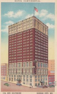 KANSAS CITY, Missouri, 1930-40s; Hotel Continental, 11th and Baltimore