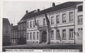 MENIN (West Flanders), Belgium, 1910-1920s; College St. Louis