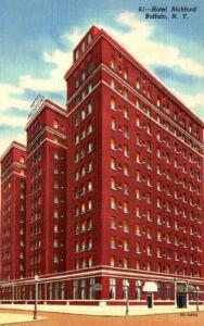 New York Buffalo Hotel Richford Curteich