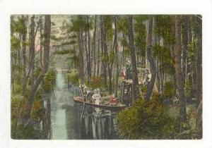 Am Wehrkanal Bei Der Wotschofska, Spreewald, Berlin, Germany, 1900-1910s