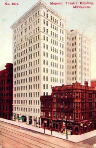 Wisconsin Milwaukee Majestic Theatre Building