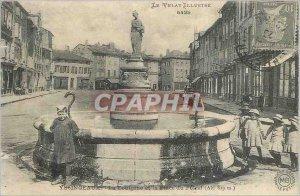 COPY The Illustrious Velay Yssingeaux La Fontaine and Place du Potral (Alt 82...