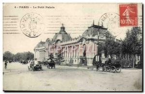 Paris Old Postcard Petit Palais