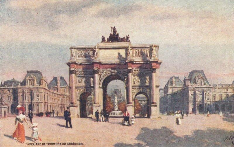 PARIS, France, 1900-10s ; Arc de Triomphe Du Carrousel ; TUCK 110 P No 68