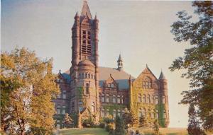 Syracuse University New York~Crouse Memorial Building~Castle on Hilltop~1950s