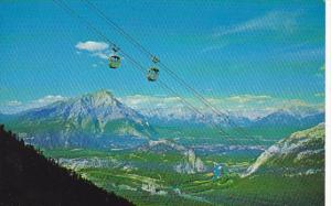 Canada Banff Sulphur Mountain Gondolas Alberta