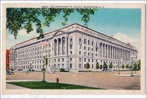Dept of Justice, Washington DC