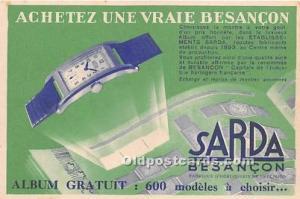Sarda Besancon Advertising Unused