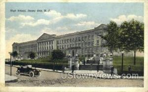 High School Jersey City NJ 1918