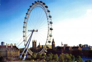 British Airways London Postcard London Eye I6
