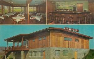 Waverly New York~Tomasso's Restaurant~Golf Club~Interior Bar~Dining Room~1950s