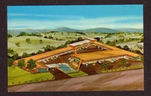VA Holiday Inn Motel ROANOKE VIRGINIA PC Postcard