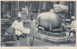 BENARES , India , 00-10s ; Nandi Sacred Bull