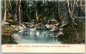 Jurupa Valley, CA Postcard JURUPA - the Place of Waters, Arrowhead Hot Springs