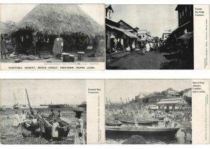 SIERRA LEONE AFRICA 48 CPA Pre-1940 (L3036)