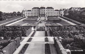 Austria Wien Vienna Schloss Belvedere Real Photo