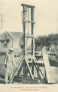 NOUVELLE-CALÉDONIE Mace - La Guillotine - Guillotine before the 72th execution