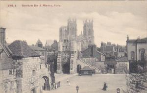England York Bootham Bar and Minster