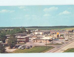 Pre-1980 QUALITY INN MOTEL & TEXACO GAS STATION Salisbury Maryland MD hs3966