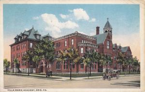 ERIE, Pennsylvania, PU-1916; Villa Marie Academy, Classic Car