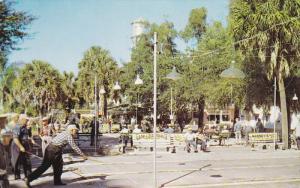 ZEPHYRHILLS, Florida, 1940-1960's; Shuffleboard Courts, Water Tower