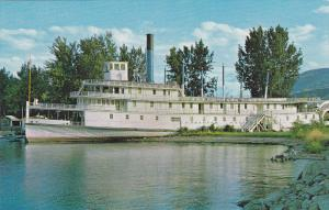 S.S. Sicamous, An old Okanagan Lake ferry, PENTICTON, British Columbia, Canad...