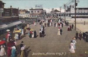 New Jersey Atlantic City Boardwalk 1912