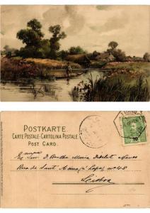 CPA Von Wald und Wiese Meissner & Buch Litho Serie 1230 (730395)