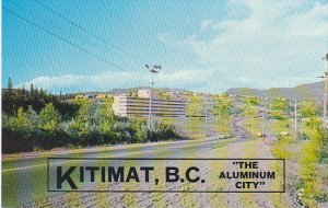 Canada Street Scene Kitimat The Aluminum City British Columbia