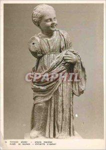 Postcard Modern Museum of Delphi Statue of Child