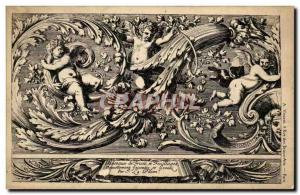 Old Postcard Drawing antiquity