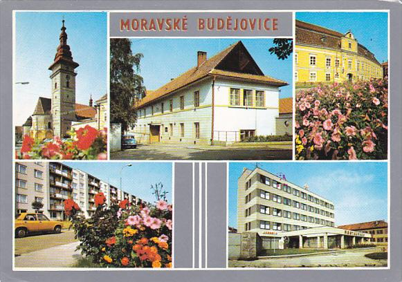 Czech Republic Moravske Budejovice Multi View