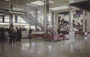 Spacious Interior of Edmonton's modern Airport,  Edmonton,  Alberta,  Canada,...