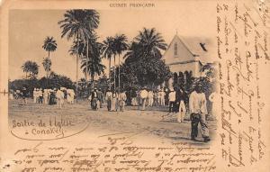 Guinea Guinee Francaise, Sortie de l'Eglise a Conakry 1902