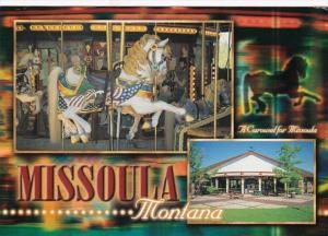 Montana Missoula Caras Park Hand Carved Carousel