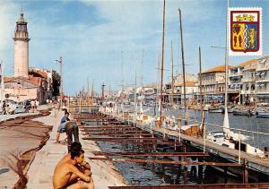 France Au Soleil de la Camargue Grau du Roi le Canal Rive Droite Fishermen Boats