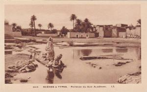 Scenes & Types- Paysage Du Sud Algerien, Algeria, Africa, 1910-1920s
