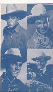 Cowboy Arcade Card Fred Harris Roy Rogers Ken Curtis Jimmy Wakely