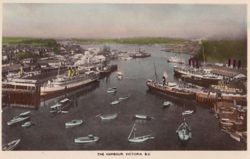 RP: VICTORIA , B. C., Canada , 00-10s ; The Harbour