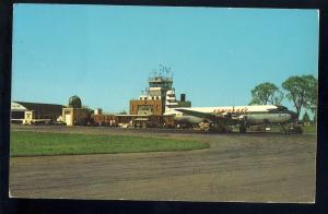 Portland, Maine/ME Postcard, Portland Airport, Northeast Airlines, 1960's?