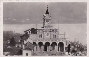 Switzerland Locarno Basillica Madonna des Sasso 1955  Photo
