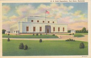 United States Gold Depository Fort Knox Kentucky Curteich